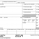 W-2 Tax Document
